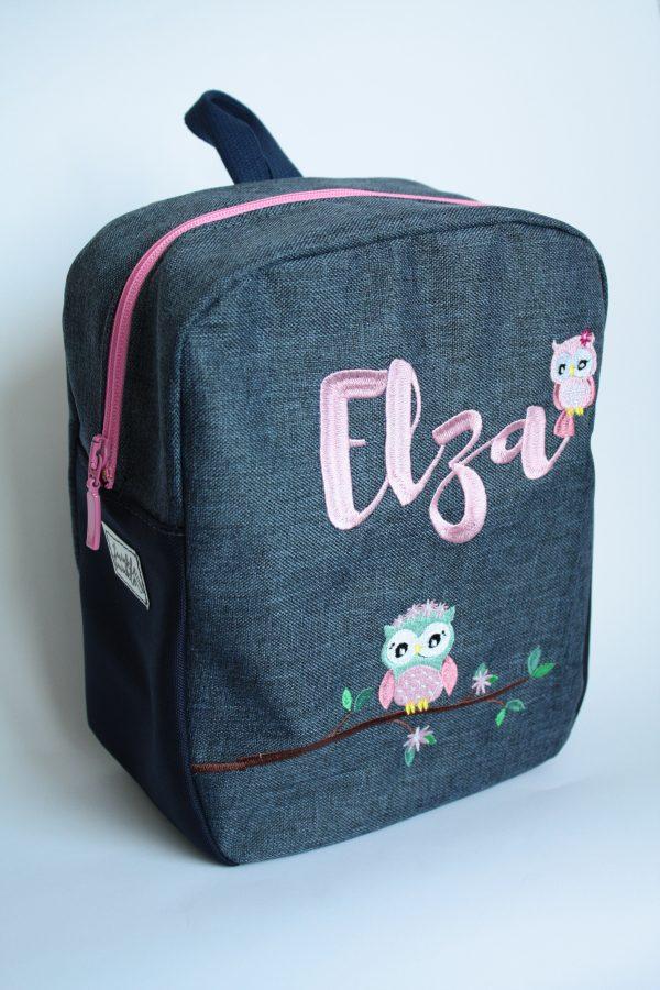 Personalised backpack - owl